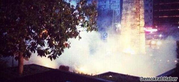 Gezi Parkı'na dozerler girdi