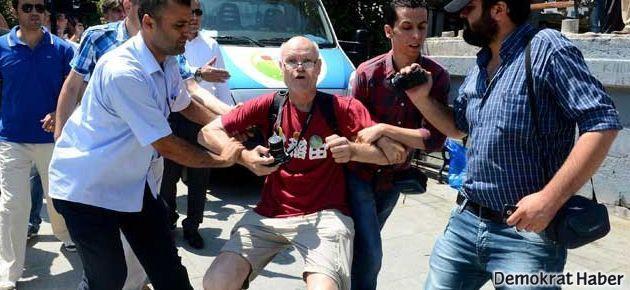 Gezi Parkı'nda 1'i Alman 17 gözaltı