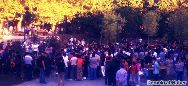 Gezi Parkı'nda biber gazsız bayramlaşma!