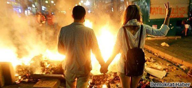 Gezi Parkı'nda nikah var!