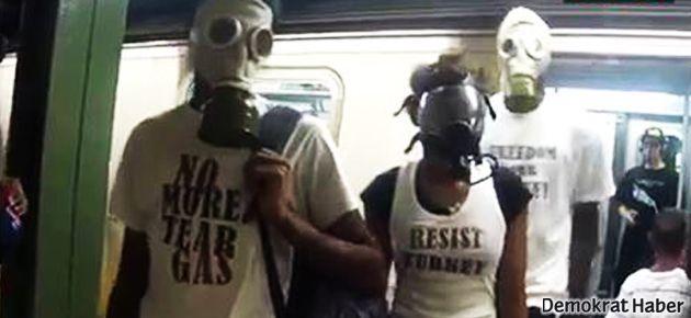 'Gezi ruhu' New York metrosunda