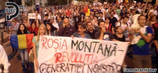 Gezi Ruhu Rosia Montana'da