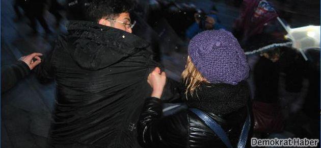 Gezi'de 8 Mart gerginliği