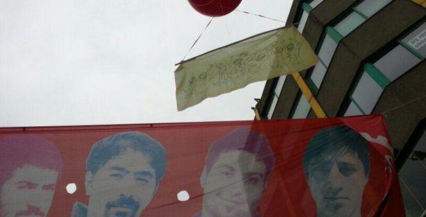 Gezi'de hayatını kaybedenler Taksim'den gökyüzüne