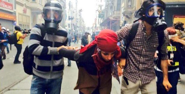 Gezi'nin yıldönümünde yoğun polis saldırıları ve gözaltılar var