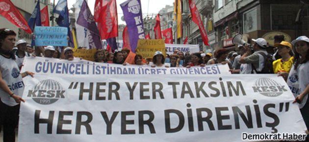 Gezi'ye müdahale olursa KESK iş bırakacak