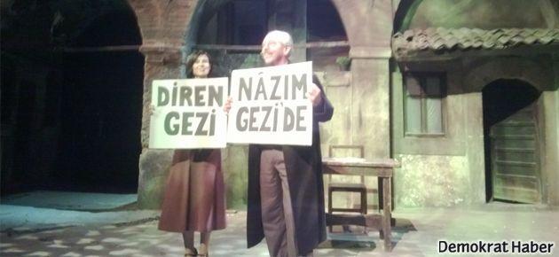 Gezi'yi destekleyen tiyatrolara destek yok