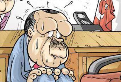 Gırgır Başbakan'a Allah'ın sopasını gösterdi