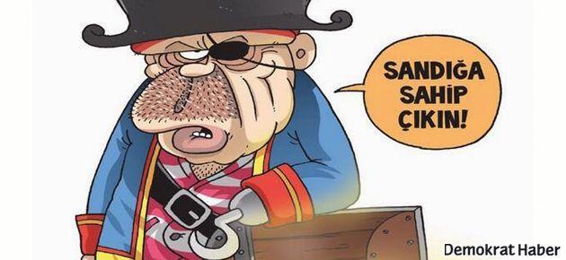 Gırgır, Erdoğan'ı 'korsan' yaptı