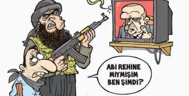 Gırgır'ın kapağında Başbakan'ın IŞİD söylemi