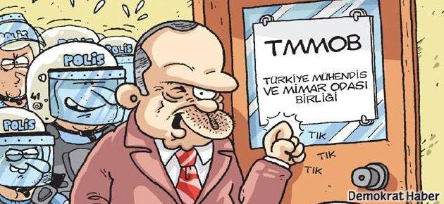 Gırgır'ın kapağında TMMOB önergesi var