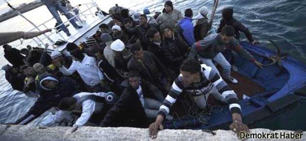 Göçmen gemisinde ölü sayısı 300 civarında