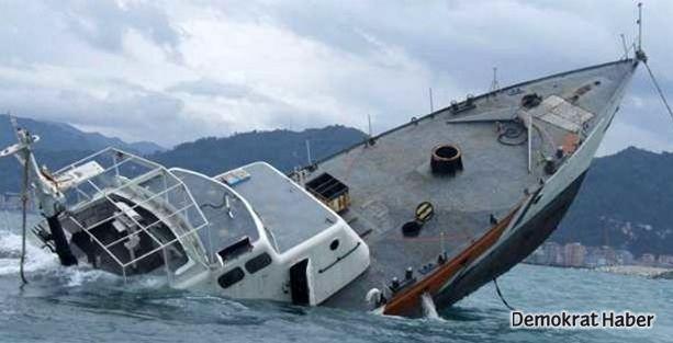 Göçmenleri taşıyan gemi battı: 36 ölü 42 kayıp