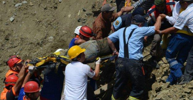 Göçük altında kalan 1 işçi daha yaşamını yitirdi