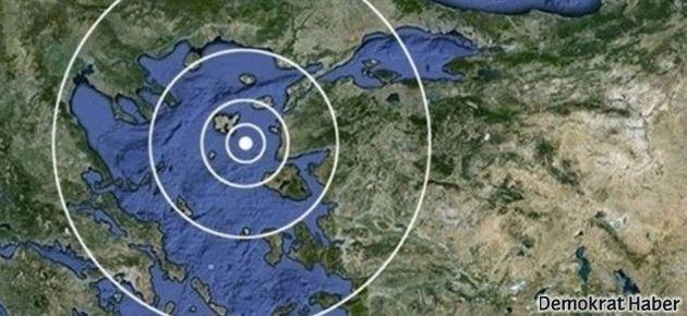 Gökçeada depremini İstanbul da hissetti
