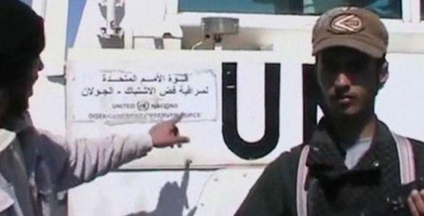 Golan'da 43 barışgücü askeri rehin alındı