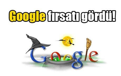 Google fırsatı gördü