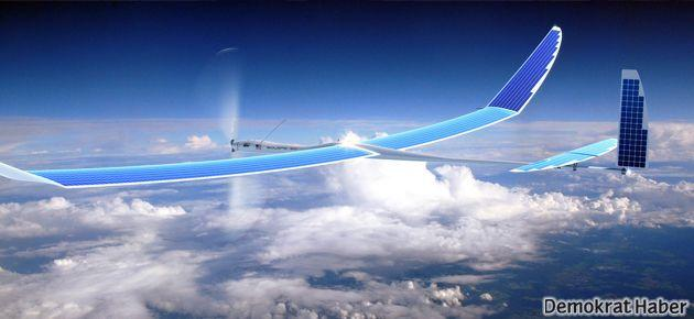 Google insansız hava aracı işine girdi