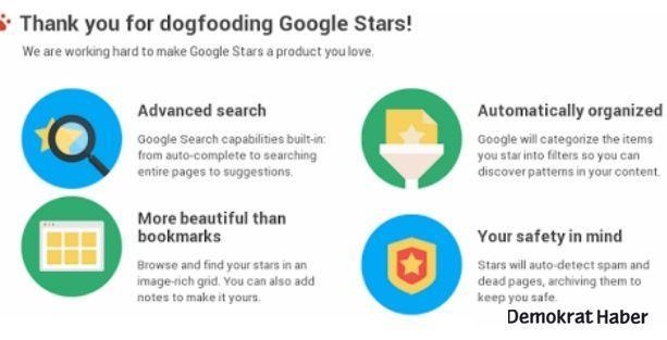 Google Stars'ın detayları belli oldu!
