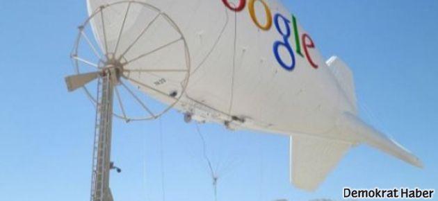 Google'dan bedava internet projesi