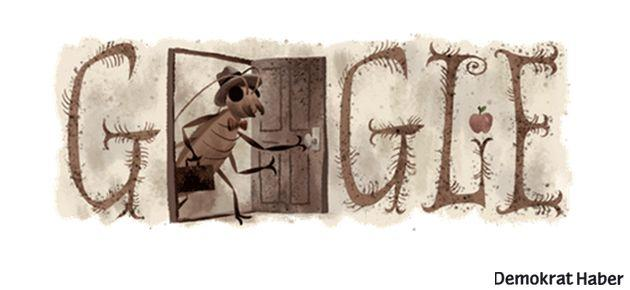 Google'dan Franz Kafka'ya özel doodle