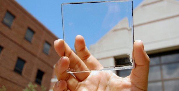 Görüşü engellemeyen, saydam güneş yoğunlaştırıcıları üretildi