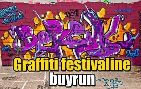 Graffiti festivaline buyrun