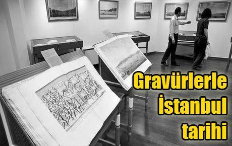 Gravürlerle İstanbul tarihi
