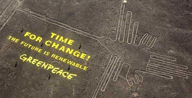Greenpeace, kaş yapayım derken göz çıkardı