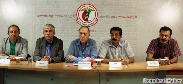 Grevdeki sendikalar 'Gezi' için yürüyecek