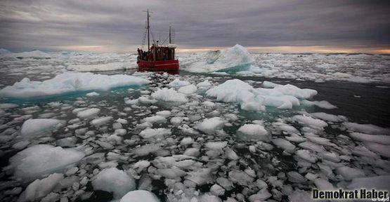 Grönland'daki erime rekor seviyeye ulaştı