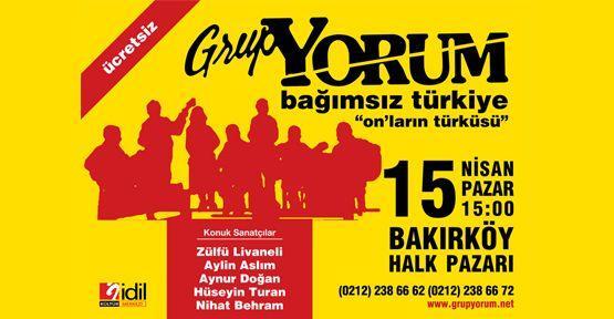 Grup Yorum afişi asan gençler tutuklandı