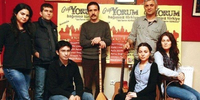 Grup Yorum: Kobani'de olanları devrim olarak görmüyoruz