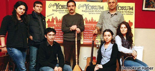 Grup Yorum'dan Berkin'e şarkı