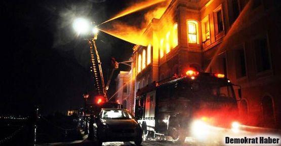 GSÜ binasında çıkan yangının nedeni açıklandı
