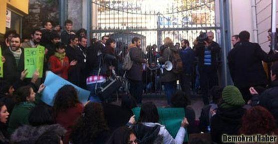 GSÜ'de ODTÜ eylemi: Rektör, rektörlüğü terk etti