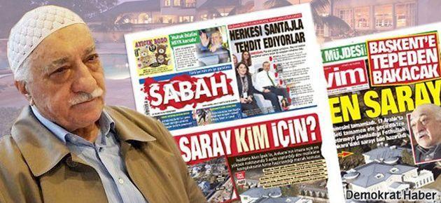 Gülen'in avukatından Sabah ve Takvim'e 'saray' yanıtı