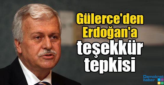 Gülerce'den Erdoğan'a teşekkür tepkisi