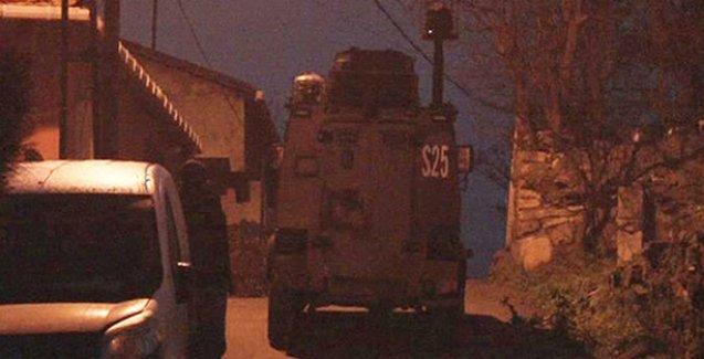 Gülsuyu ve Gülensu mahallelerine polis baskını
