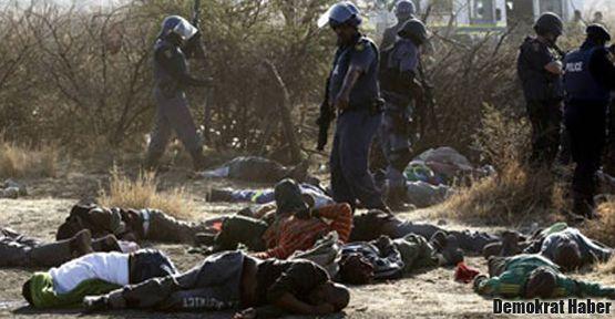 Güney Afrika'da greve devam!