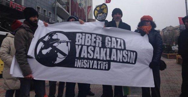 'Güney Kore Türkiye'ye biber gazı ihracatını durdur'