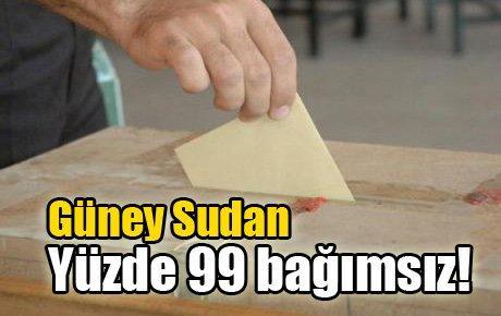 Güney Sudan: %99 bağımsız