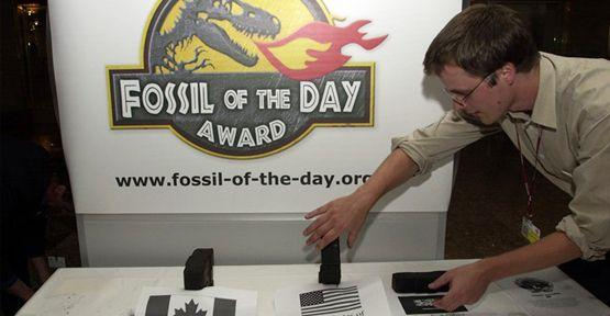 'Günün fosil ödülü' Türkiye'nin