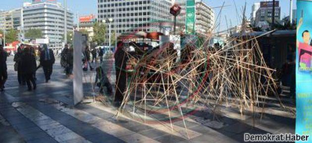 Güvenpark'a direnişin anıtı yapıldı