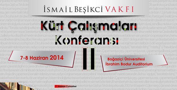 Haftasonu Kürt Çalışmaları Konferansı düzenleniyor