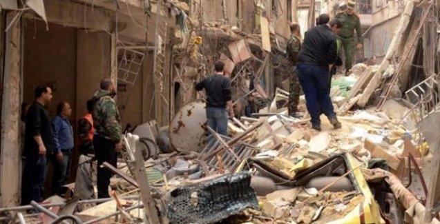 Halep'te ÖSO'dan roket saldırısı