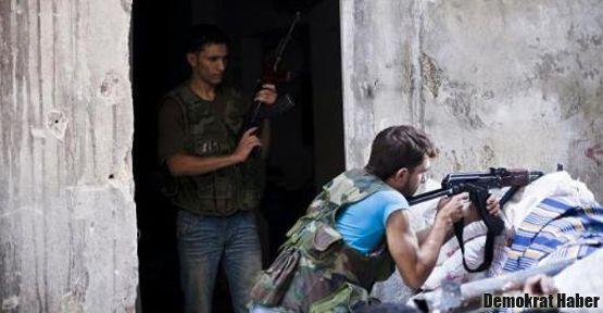 Halep'te çatışma arasında 'atışma'