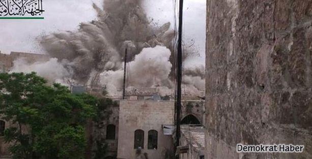 Halep'te otele saldırı: 50 ölü