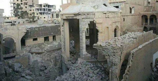 Halep'teki bombalı saldırıda bir kişi öldü