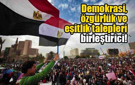 """""""Halk kazandı, firavun yıkıldı..."""""""